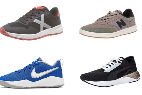 Chollos en tallas sueltas de zapatillas Munich, Nike, Puma o New Balance en Amazon