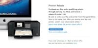 Apple elimina el descuento con la compra de una nueva impresora en los Estados Unidos
