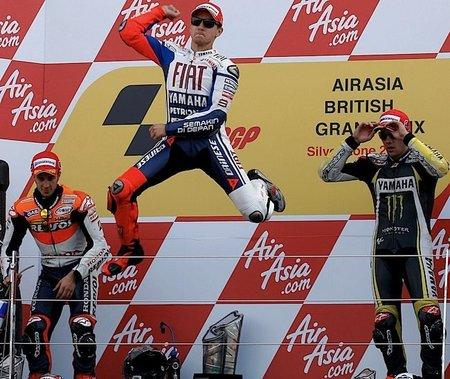 MotoGP Gran Bretaña 2010: Lo mejor y lo peor de la carrera en Silverstone