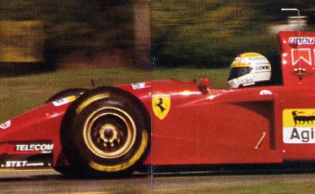 Pierluigi Martini Ferrari 412 T2 Fiorano Test 1995