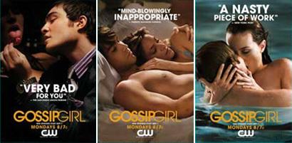 Gossip Girl vuelve a recurrir a la polémica para promocionarse