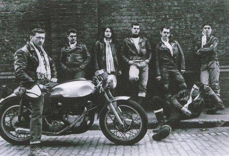 Grupo de rockers