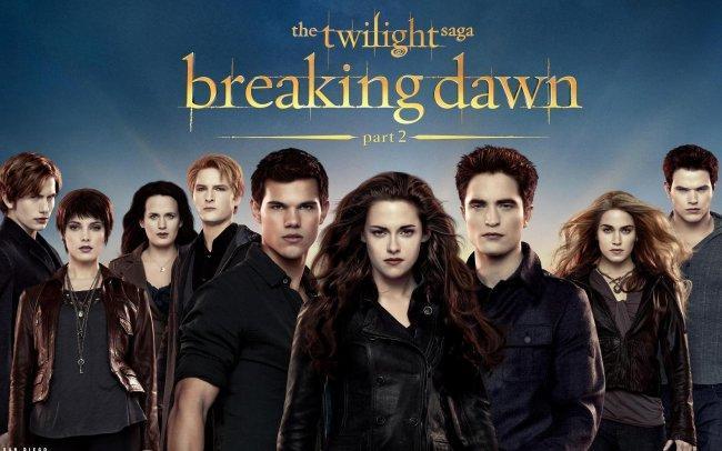 Imagen con el cartel de 'La Saga Crepúsculo: Amanecer. Parte 2'