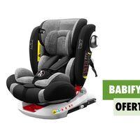 La silla infantil para coche más vendida de Amazon es giratoria y está rebajadísima durante el Prime Day: llévatela por 144,95 euros