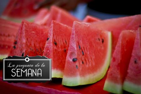 ¿Cuál es vuestra fruta favorita de verano? La pregunta de la semana