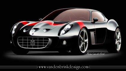 Ferrari 599 GTO Mugello, a producción como Vandenbrink GTO