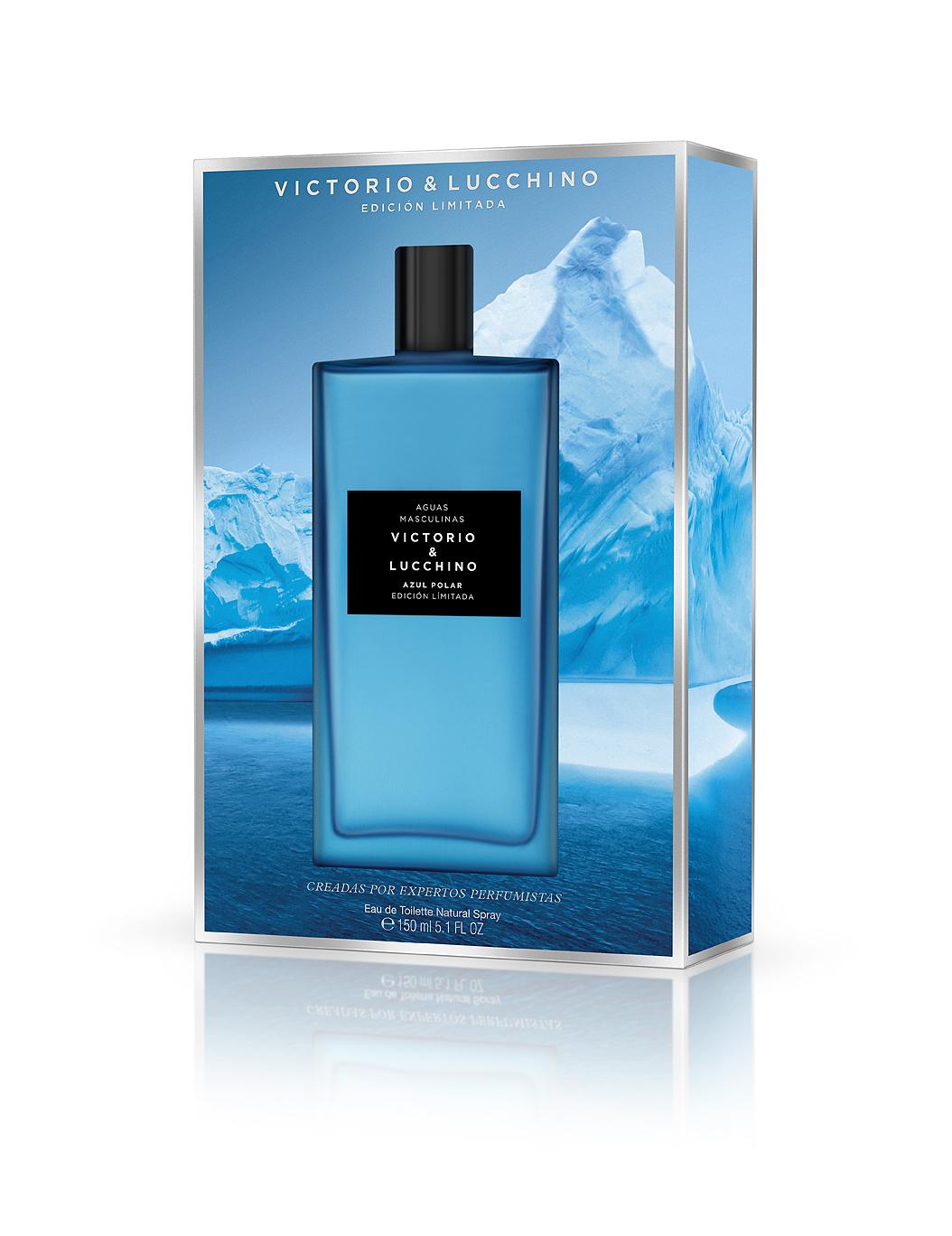 Agua Masculina Azul Polar