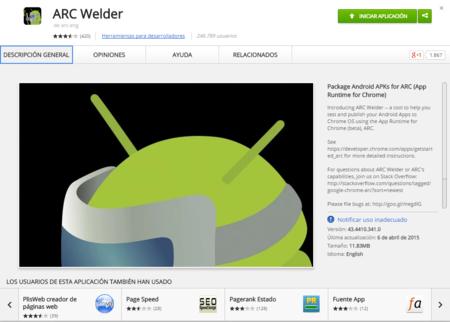 Corre aplicaciones de Android en Windows desde Chrome