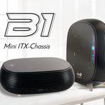 In Win pone a la venta su caja B1 Mini-ITX, un modelo con el que montarte un HTPC que llamará la atención en el salón