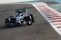 Nico Rosberg consigue la 'pole' en Abu Dhabi y mete presión a Hamilton