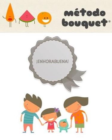 Método Bouquet, para que los niños coman más frutas y verduras de forma divertida