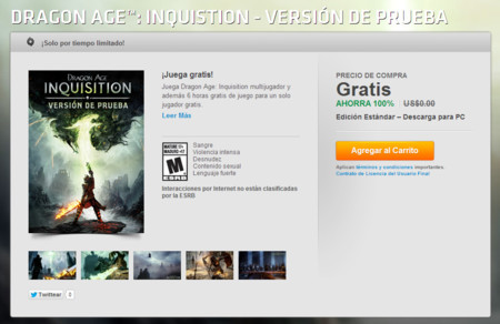 Dragon Age Inquistion Origin