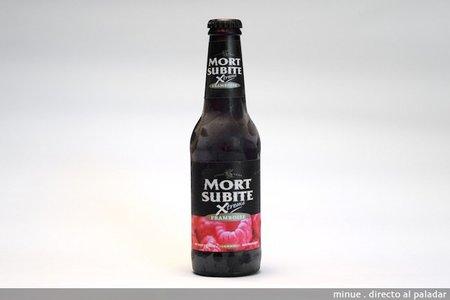 Mort Subite Framboise. Cata de cerveza