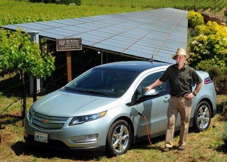 Chevrolet Volt solar Robert deLeuze