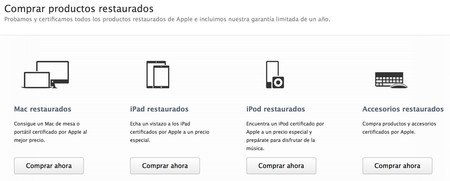 apple restaurados