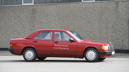 Mercedes 190 E Elektro 4