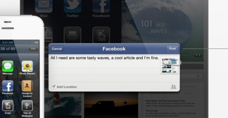 ios 6 apple facebook