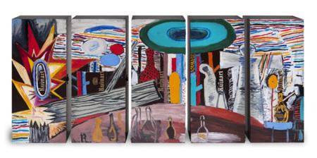 Abraham Lacalle para Ruinart: obra de arte en cajas de champagne