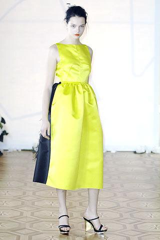 Roksanda Ilinic en la Semana de la Moda de Londres Primavera/Verano 2008
