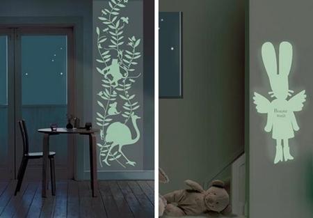 Cocoboheme: vinilos decorativos que brillan en la oscuridad