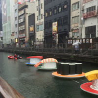 Un río de sushi en Osaka