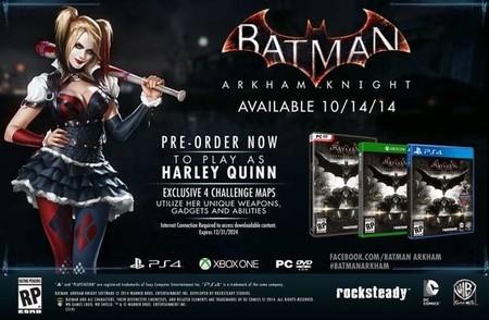 Batman: Arkham Knight saldrá el 14 de octubre de este año, según Gamestop