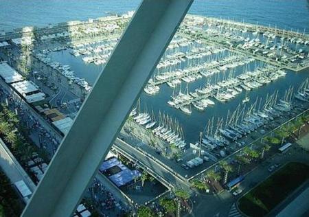 Vista puerto deportivo