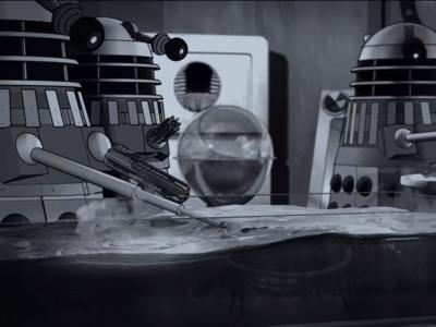 """""""The Power of the Daleks' , la restauración del clásico de 'Doctor Who' en formato de serie animada"""
