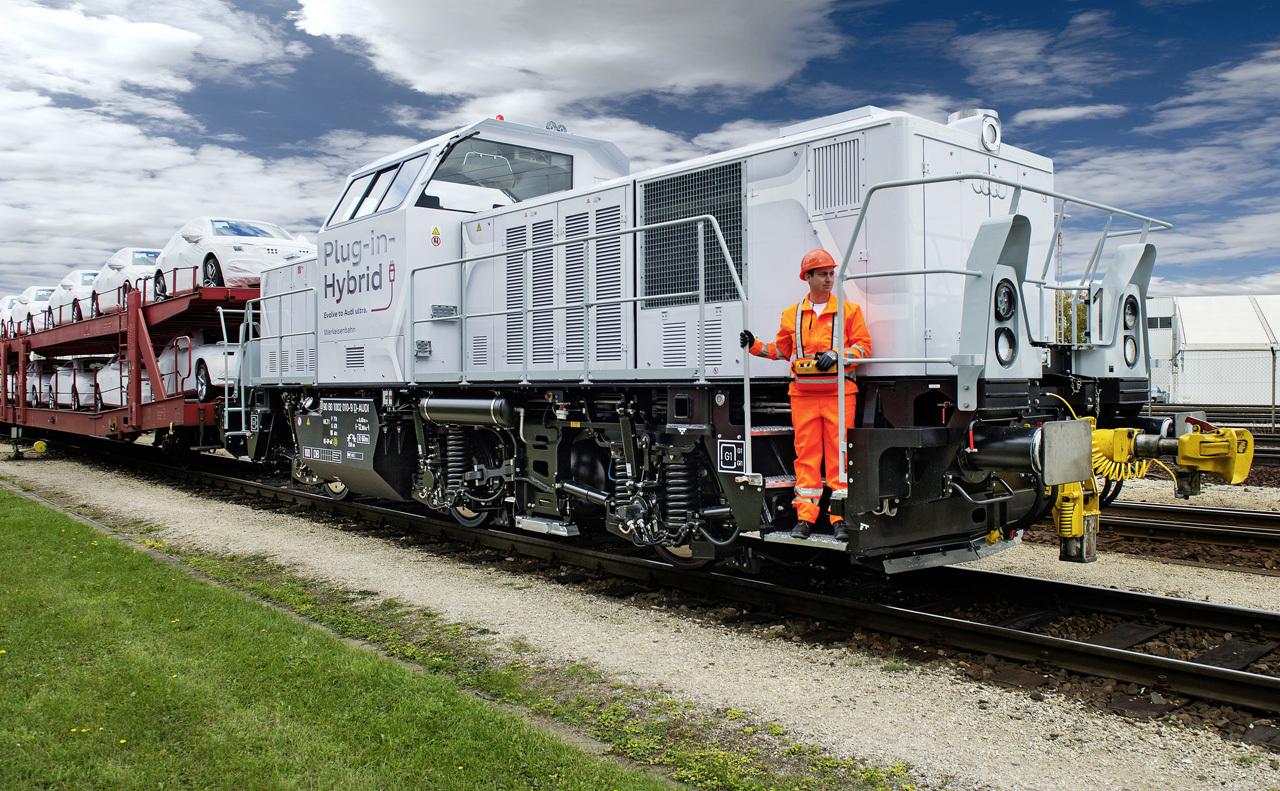 Locomotora híbrida Ingolstadt Audi