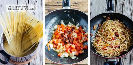 Espagueti Chipotle Prep