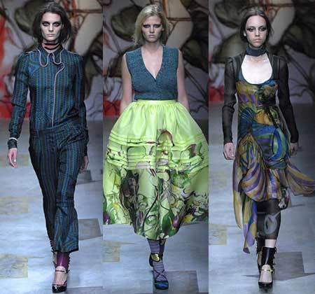 Prada en la Semana de la Moda de Milán Primavera-Verano 2008