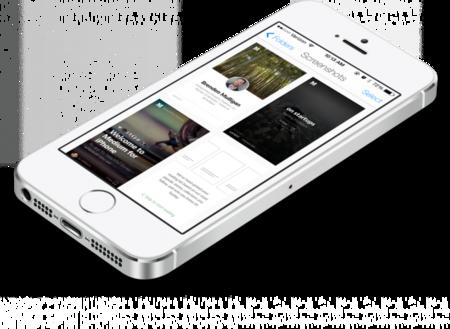 Screenshotter, organiza automáticamente las capturas de pantalla en tu carrete de iOS