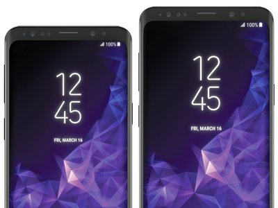 Así serán los nuevos Galaxy S9 y S9+, según el nuevo render filtrado por @EvLeaks