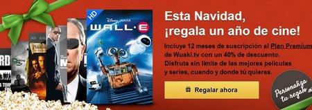 La suscripción a Wuaki.TV  podrá comprarse en El Corte Inglés