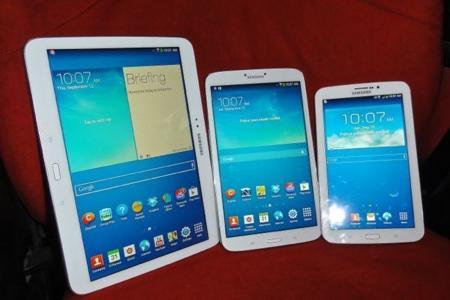 Familia de tablets Samsung Galaxy Tab 3 a la venta en España partiendo de 199 euros