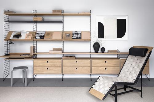 Clonados y pillados; estanterías inspiradas en la String original