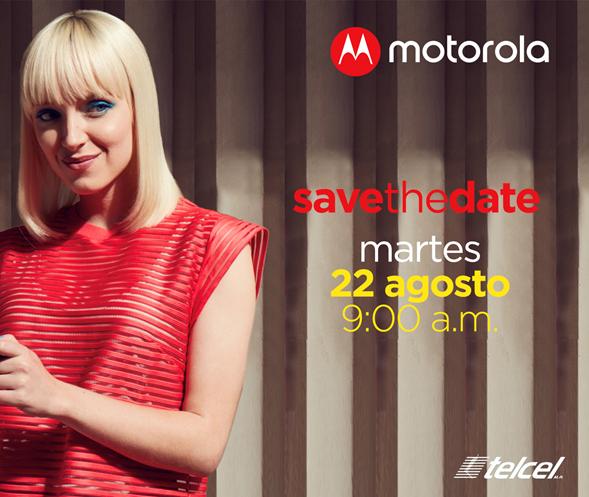 Motorola y Telcel preparan una sorpresa para México, la cita es el próximo 22 de agosto