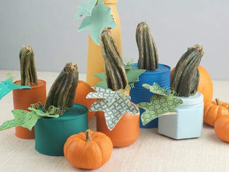 Hazlo tú mismo: crea originales calabazas para Halloween con chalk paint