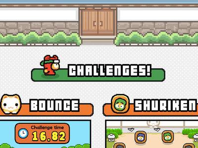 Del creador de Flappy Bird, llega el nuevo juego Ninja Spinki Challenges!!
