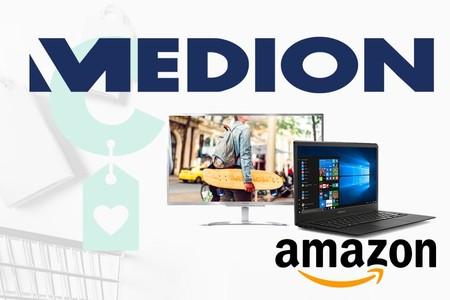 Portátiles y sobremesa Medion en oferta en Amazon: comienza el mes de julio ahorrando en ese ordenador que tanta falta te hace