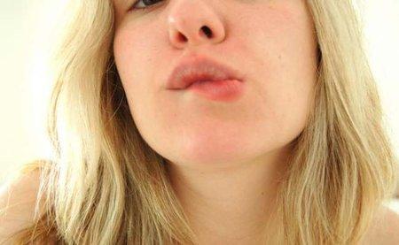 ¡Ostras! Tengo una calentura en el labio