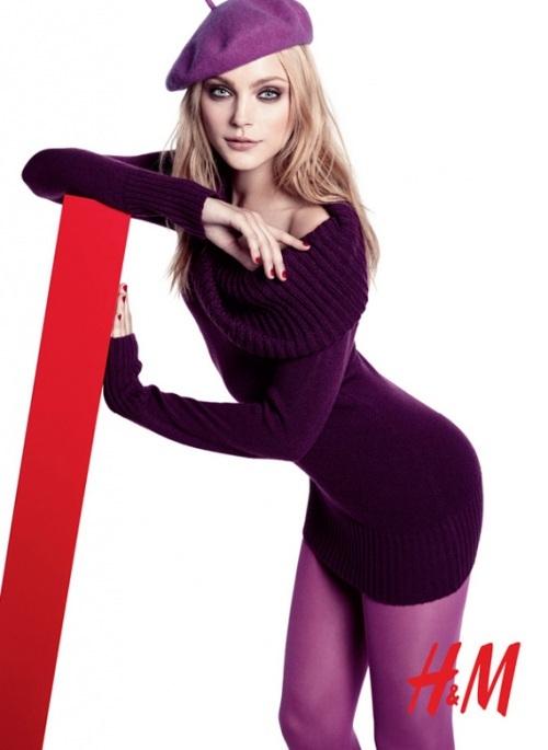 Foto de Nuevas tendencias Otoño-Invierno 2009/2010 por H&M y Jessica Stam (1/8)