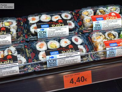 ¿Es el sushi corner de Mercadona el fin de los restaurantes de sushi económicos?