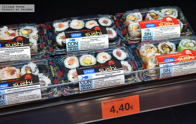 Sushi de Mercadona