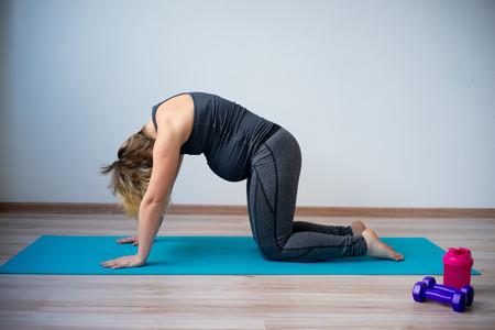 Yoga Embarazo Marjaryasana