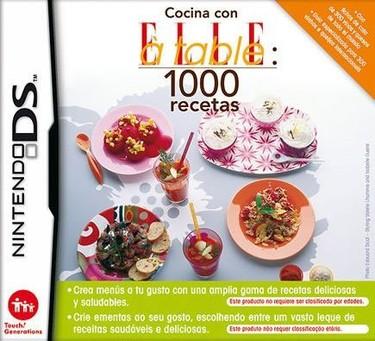 Cocina con ELLE à table: 1000 recetas en la Nintendo DS