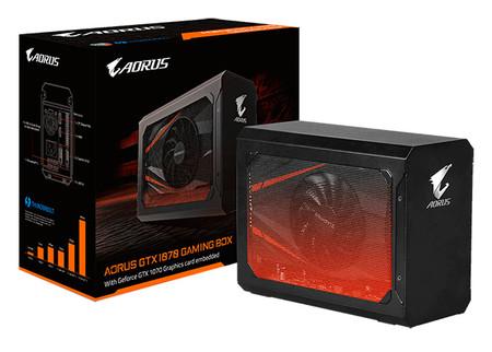 AORUS GTX 1070, la poderosa tarjeta de video que se podrá usar de manera externa en laptops con USB-C