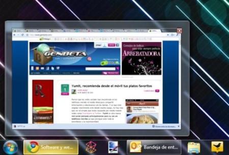 Cambia el tamaño de las miniaturas de la barra de Windows 7 con Taskbar Thumbnail Customizer
