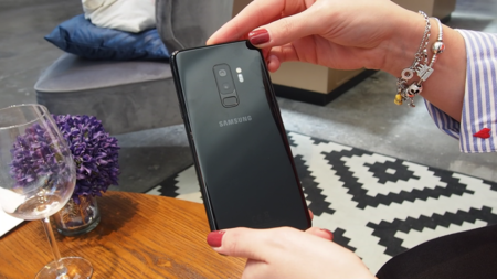 Galaxy S9+ S9 Plus doble cámara