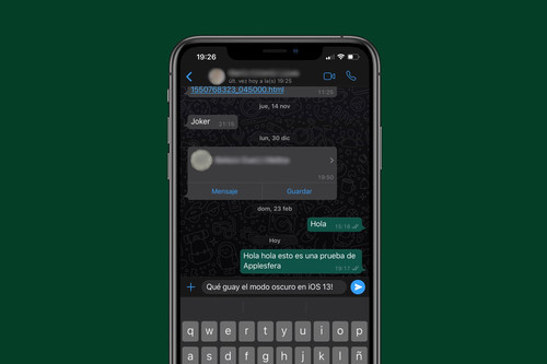 Cómo activar el modo oscuro de WhatsApp en el iPhone